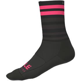 Alé Cycling Speed Fondo Strømper, black-flou pink
